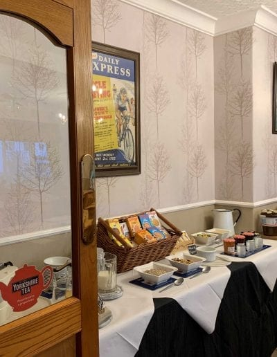 scarborough seaside continental breakfast stay